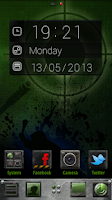 Screenshot of FaceTime Clock Widget