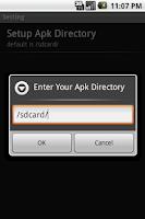 Screenshot of Fast App Install