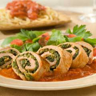 Spinach & Cheese Veal Rollatini