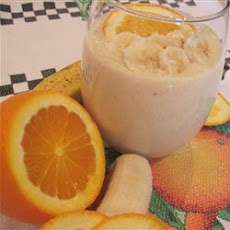 Banana-Orange Smoothie