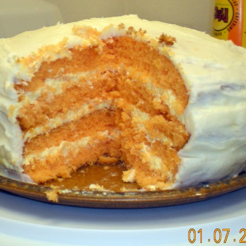 Orange Dreamsicle Cake II