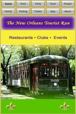 The New Orleans Tourist Guide
