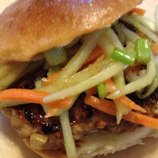 Asian Inspired Pork Burgers