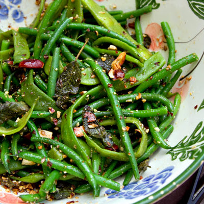 Green Beans with Sage & Almond Butter