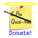 Quick-Notes (S Pen™) Donate icon