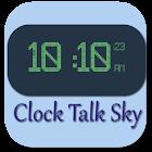 Clock Talk Sky-AdFree icon