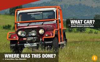 Screenshot of Mahindra Adventure - Get Lost