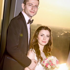 Silviu & Otilia by Alexandru Rosu by Rosu Alexandru - Wedding Bride & Groom ( bride, people, groom, portrait )