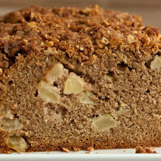 Apple Quick Bread with Pecan Streusel Recipe