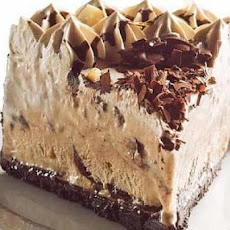 Chocolate Cookie and Coffee Ice Cream Pie