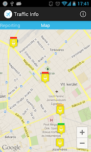 Trafficinfo Prototype - screenshot