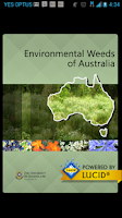 Screenshot of Environmental Weeds Australia