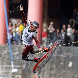 Red Bull Wakeboard Championships, Albert Dock, Liverpool by Dave Hudson - Sports & Fitness Watersports