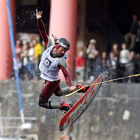 Red Bull Wakeboard Championships, Albert Dock, Liverpool by Dave Hudson - Sports & Fitness Watersports (  )