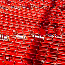 red chairs by Lennie Locken - Artistic Objects Furniture ( red, white, pwc87, , color, colors, landscape, portrait, object, filter forge )
