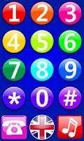 Screenshot of Baby Fun Phone - Touch Game