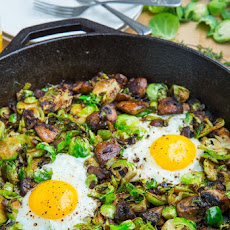 Mushroom and Brussels Sprout Hash Recipe | Yummly