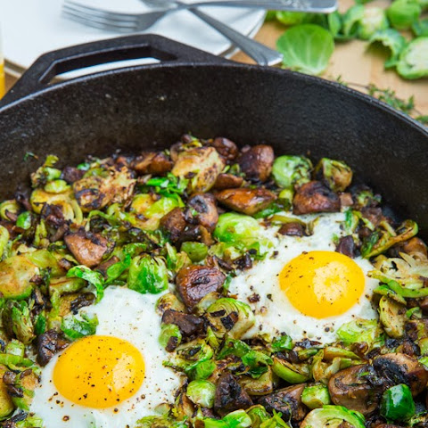 Brussels Sprouts and Mushrooms Recipe | Yummly