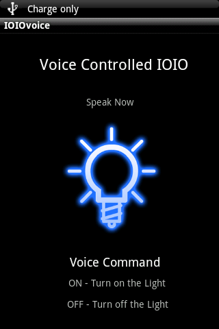 Voice Controlled IOIO