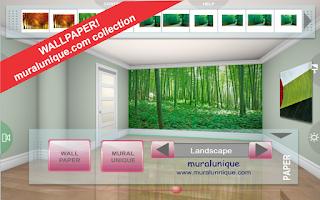 Screenshot of 3D Interior Room Design