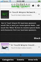 Screenshot of In Touch Wayne NC