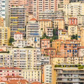 Monaco by Edward Lemery - City,  Street & Park  Neighborhoods ( europe, facade, buildings, monaco, france, monte carlo, city )