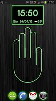 Screenshot of AirUnlocker free lockscreen