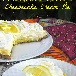 PINEAPPLE LEMON CHEESECAKE CREAM PIE