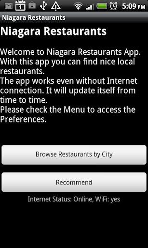 Niagara Restaurants