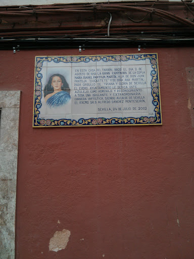 Cantaora Isabel Pantoja