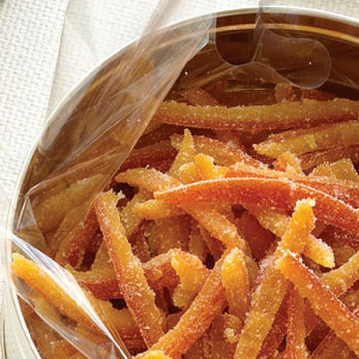 Candied Citrus Peel Recipe | Yummly