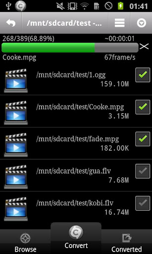 ARMV7 VFP VidCon Codec