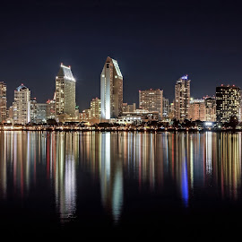 San Diego by David Allison - City,  Street & Park  Skylines (  )