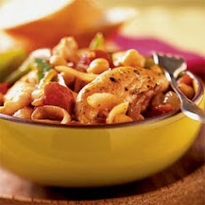 Italian Chicken with Chickpeas