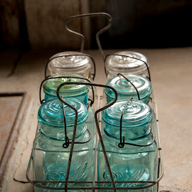 Ball Jars by Keith Reling - Artistic Objects Glass ( ball jars, canning, glass )