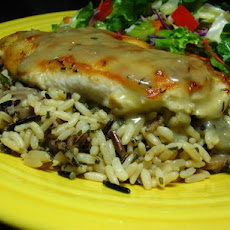 Chicken Saute with Wild Rice