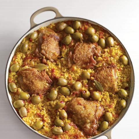 Arroz Con Pollo, Lightened Up Recipes — Dishmaps