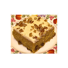 Walnut Pumpkin Cake