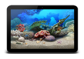 Screenshot of Aquarium HD for GoogleTV