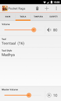 Screenshot of Pocket Raga - Tabla & Tanpura