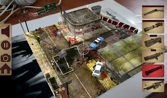 Screenshot of TableZombies AR Lite
