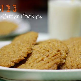 Easy 123 Peanut Butter Cookies