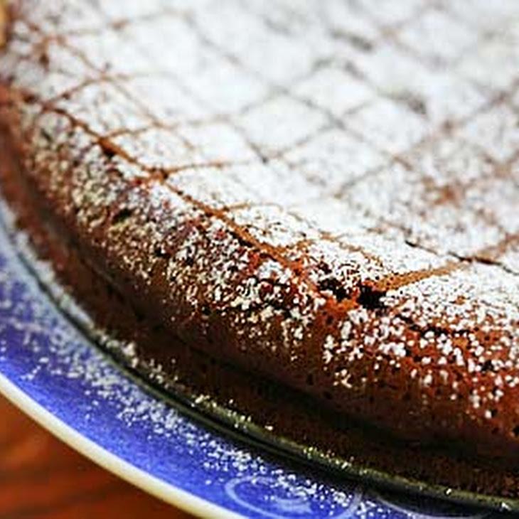 Chipotle Flourless Chocolate Cake