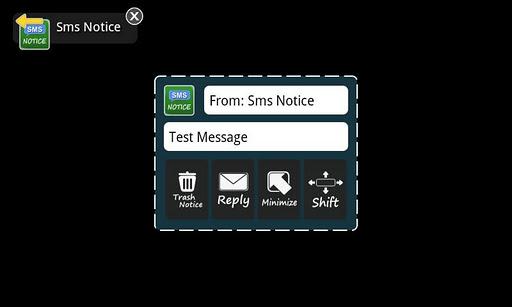 Sms Notice