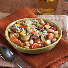 White Bean, Artichoke, and Chard Ragout