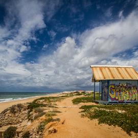 Ile da Faro by Wim Moons - Landscapes Beaches ( ponte de cima, arábia, prt, portugal, faro )