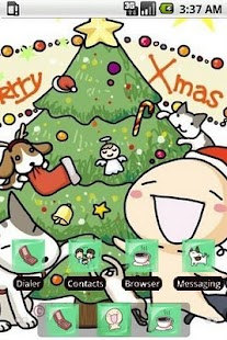 WanWan Xmas Tree [SQTheme] ADW - screenshot