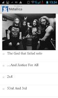 Screenshot of Аккорды с текстами песен