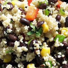 Couscous with Leeks, Corn, and Olives