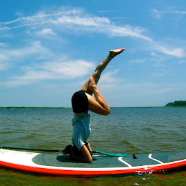 Yoga on a Board by Tyrell Heaton - News & Events Health ( water, fitness, sport, board, yoga )